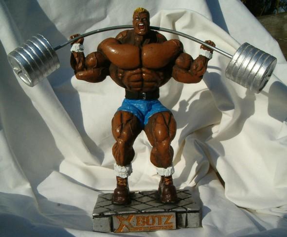 "Figurka ""Przysiad"", Powerlifting"