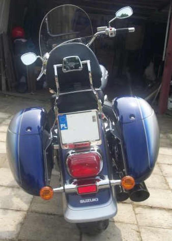 Kufry motocyklowe do Suzuki intruder 800, 1500