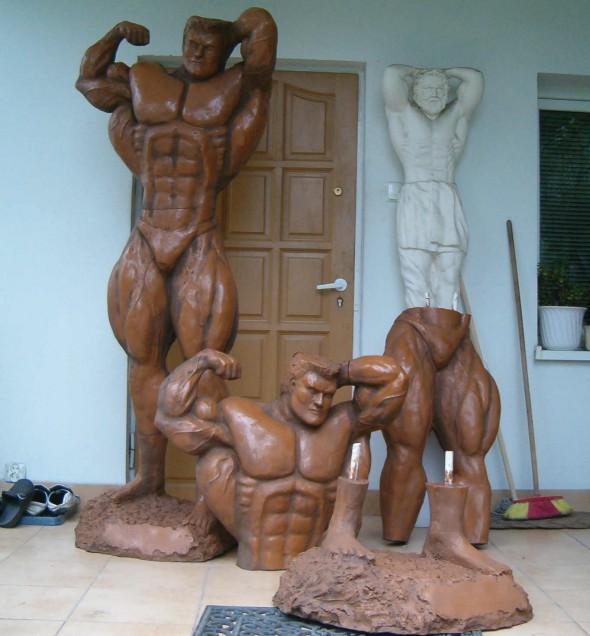 Rzeźba kulturysty