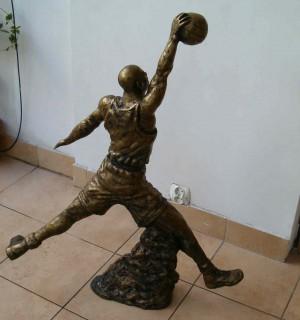 Rzeźba Michael Jordan