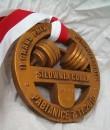 Medal z rzywicy poliestrowej Powerlifting 2