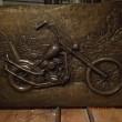 płaskorzeźba easy rider